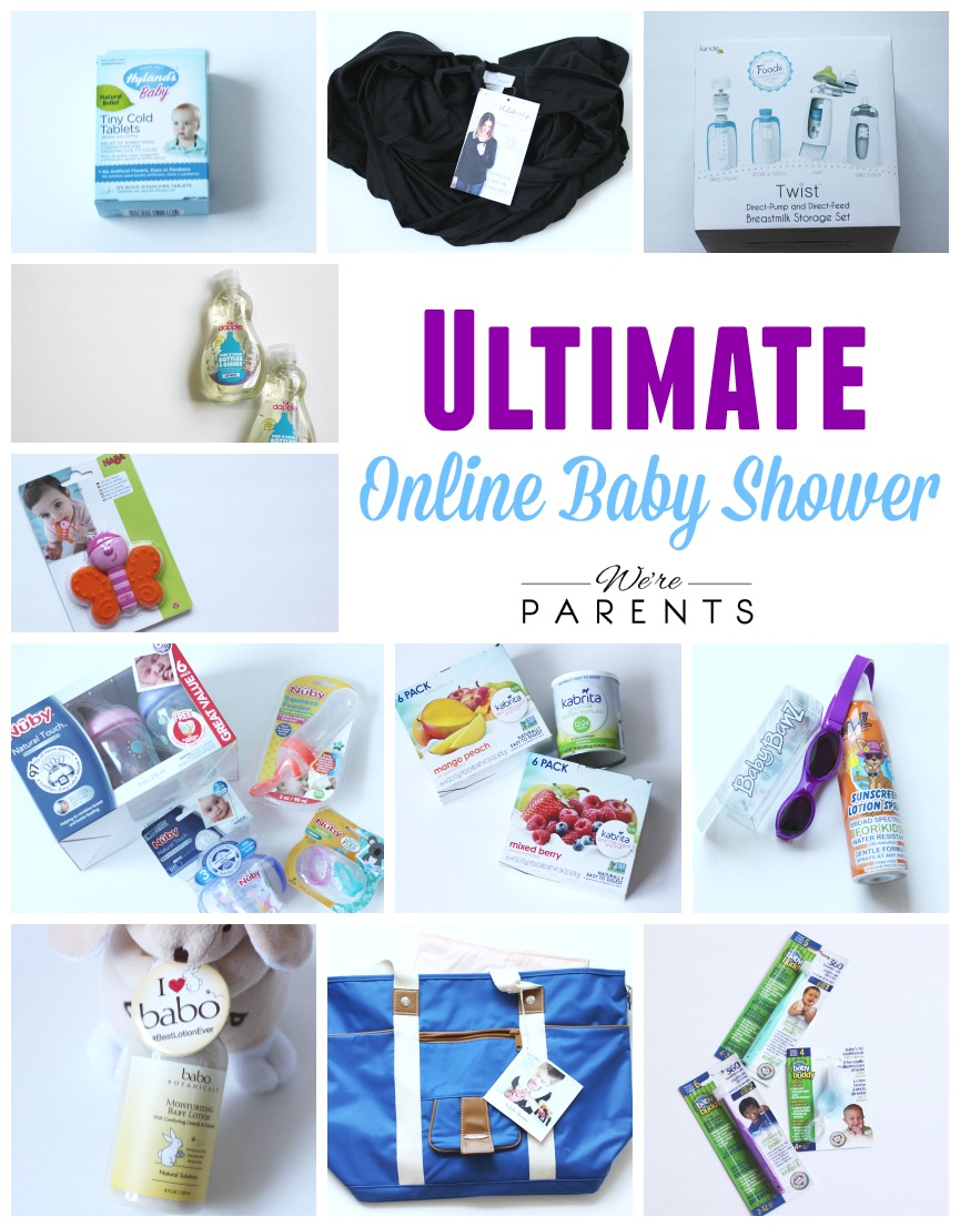 ultimate online baby shower brands - We\'re Parents