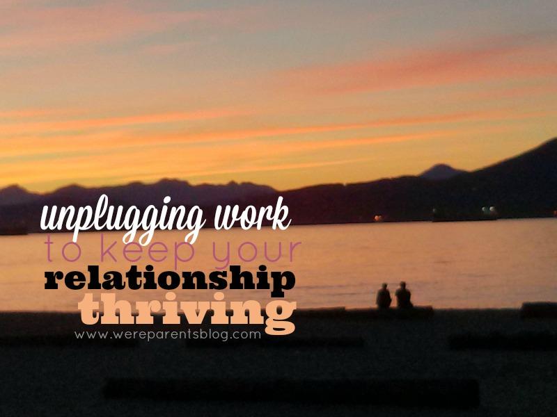 unplugging work
