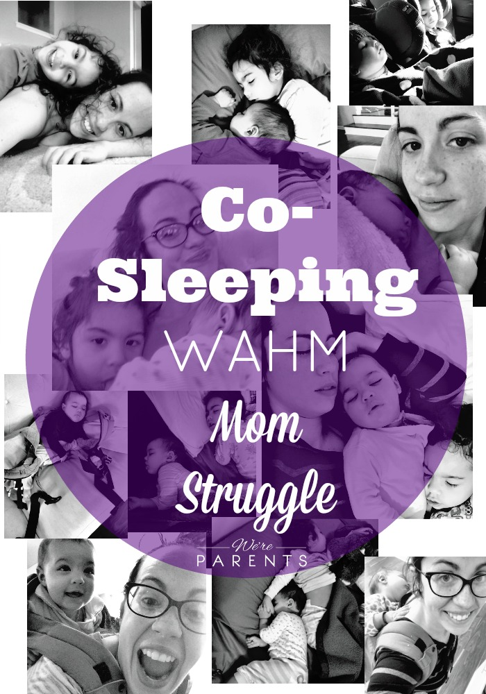 cosleeping wahm mom struggle
