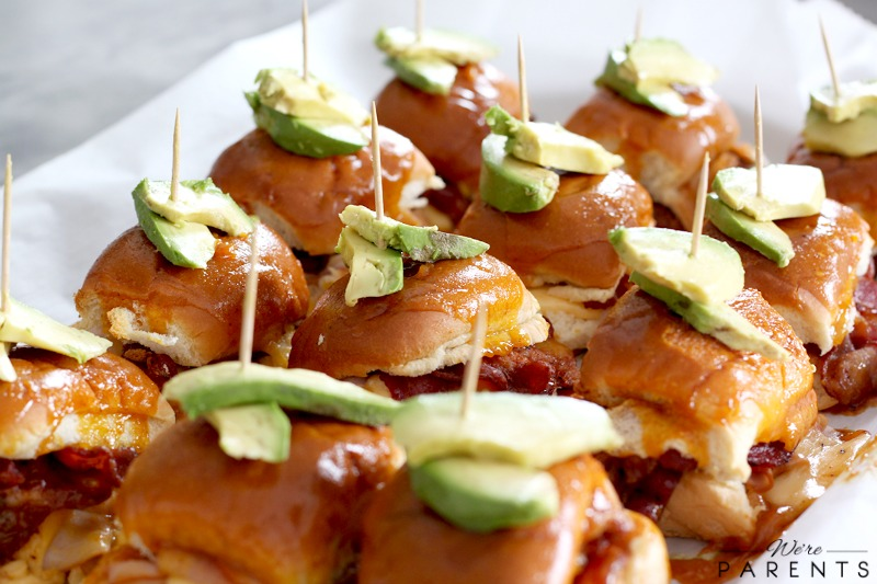 honey mustard bbq bacon turkey sliders