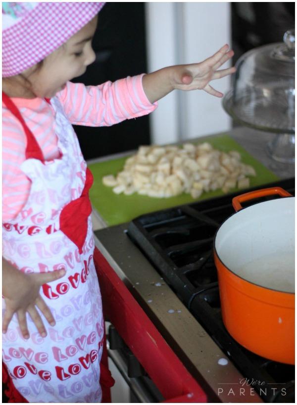 mini chef mondays loaded baked potato soup