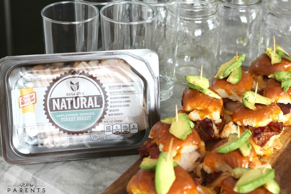 oscar mayer selects natural turkey sliders