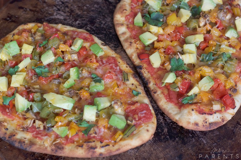Spicy Veggie Pizza