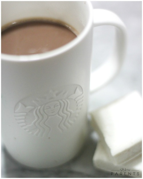 starbucks hot cocoa and marshmallows