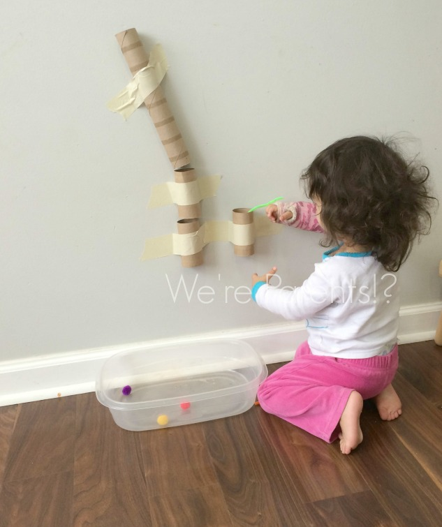 Early Learning indoor toddler activity