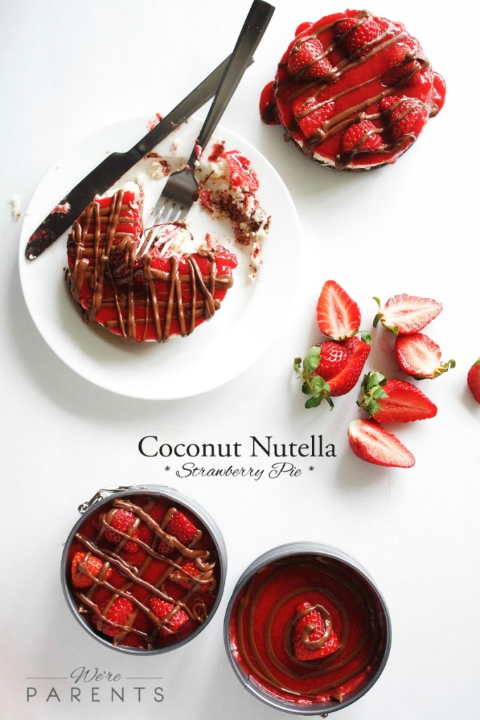 coconut nutella strawberry pie recipe