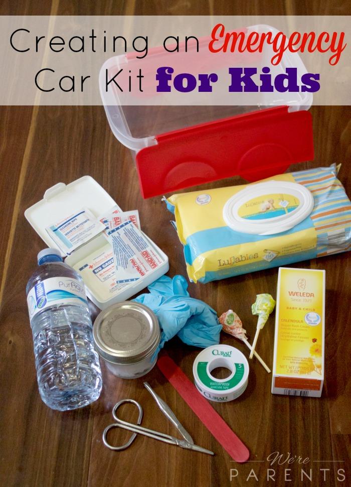 emergency car kit for kids