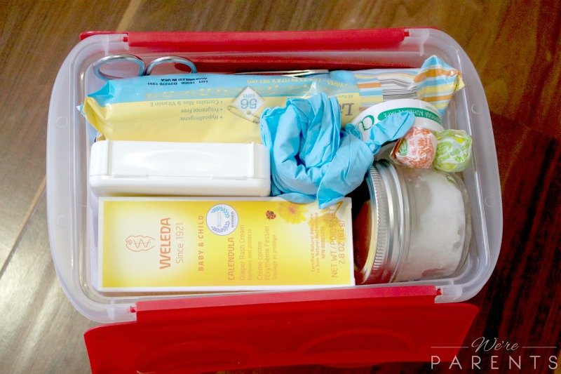 emergency kit for traveling with kids