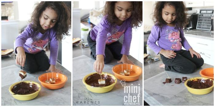 mini chef mondays cheesecake bites