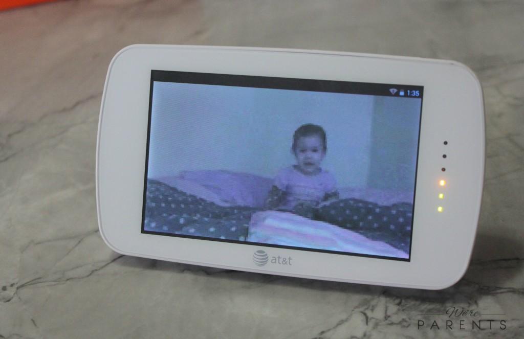 att baby journeys video monitor smart sync