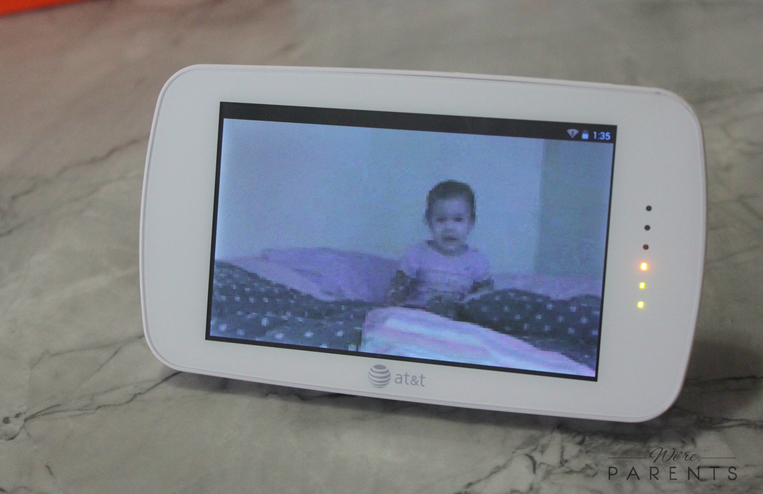 easing your mind with smart sync video monitor we 39 re parents. Black Bedroom Furniture Sets. Home Design Ideas