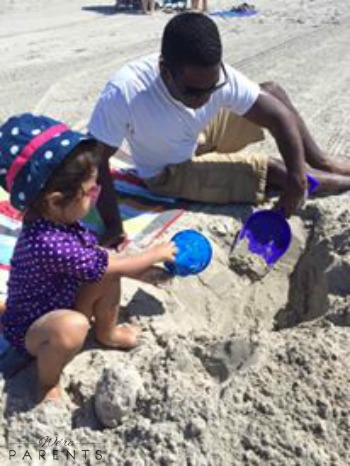 beach day for toddlers