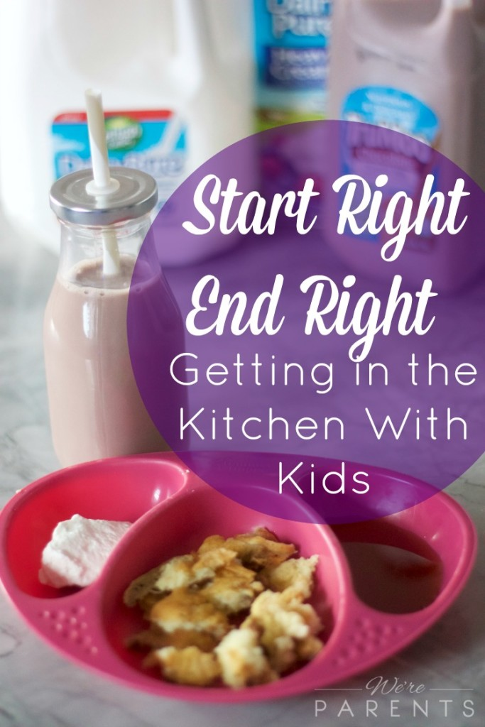 getting in the kitchen with kids