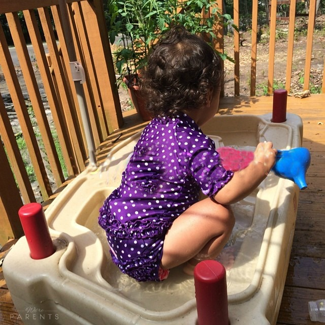 introducing kids to water