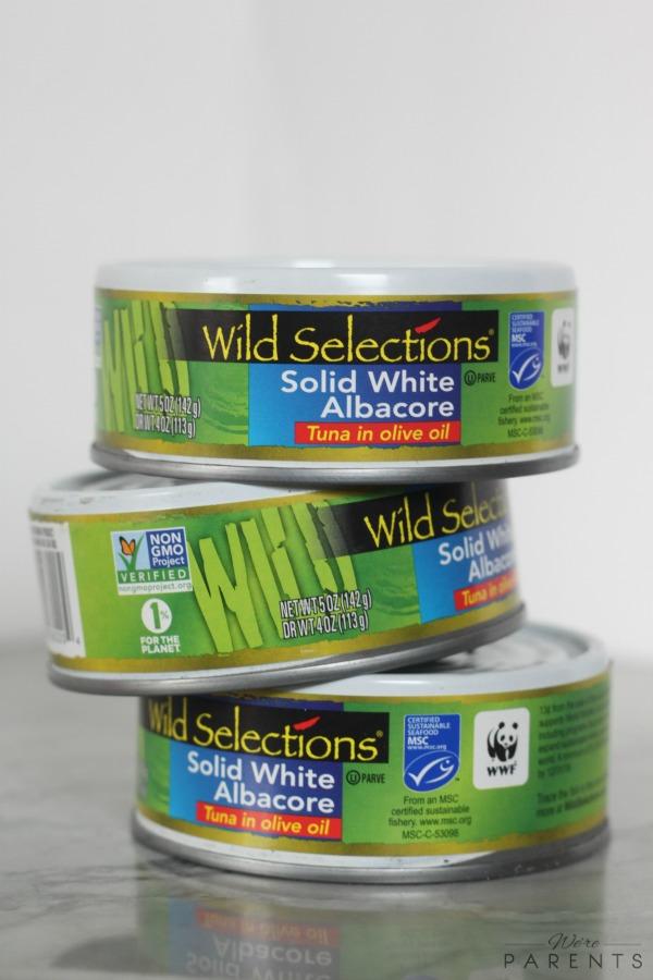 wild selections solid white albacore tuna