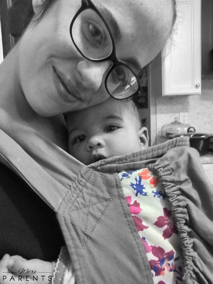 babywearing the last baby