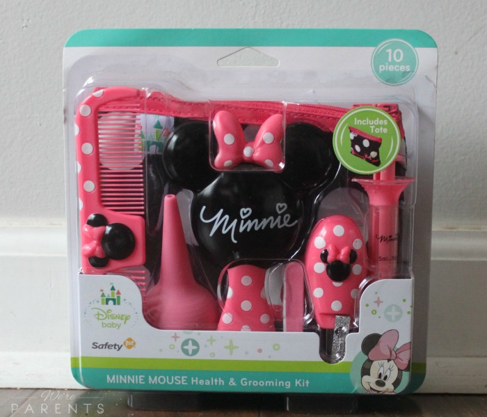 disney baby minnie mouse health & grooming kit