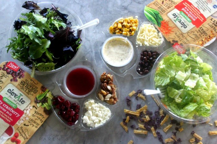 elevate salads at wegmans