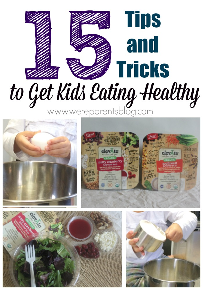 get kids eating healthy