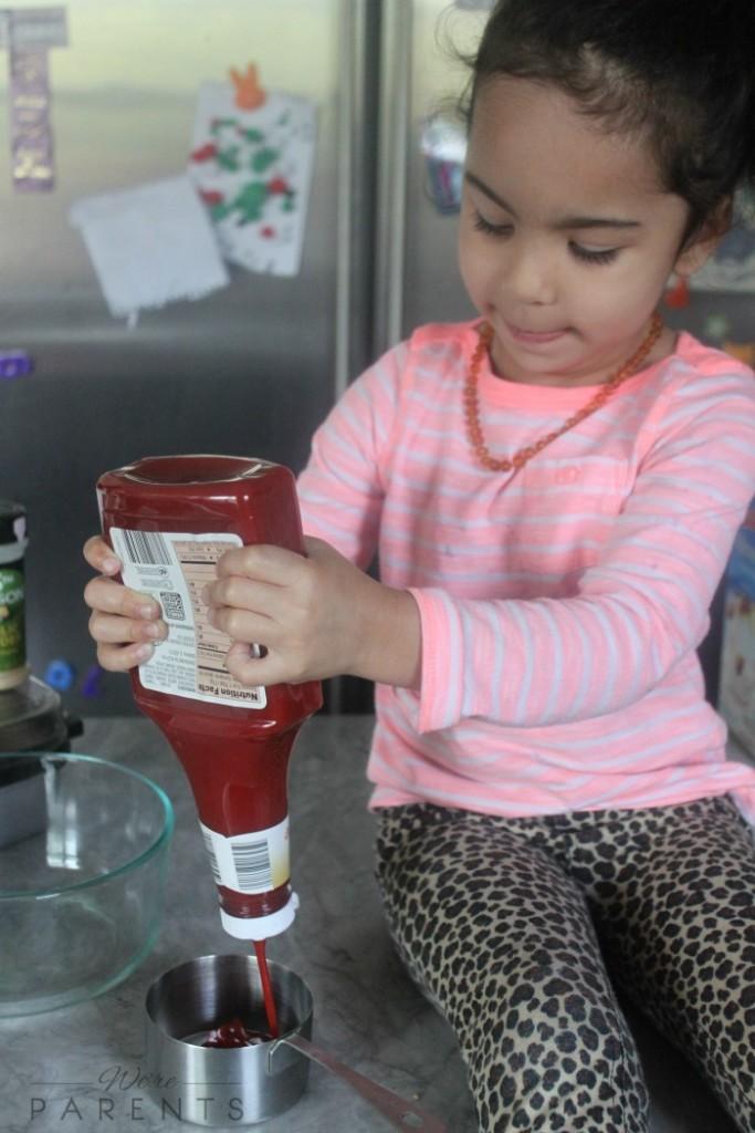 making bbq sauce