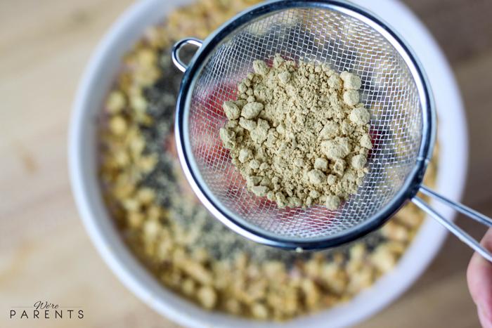 peanut butter bowl recipe