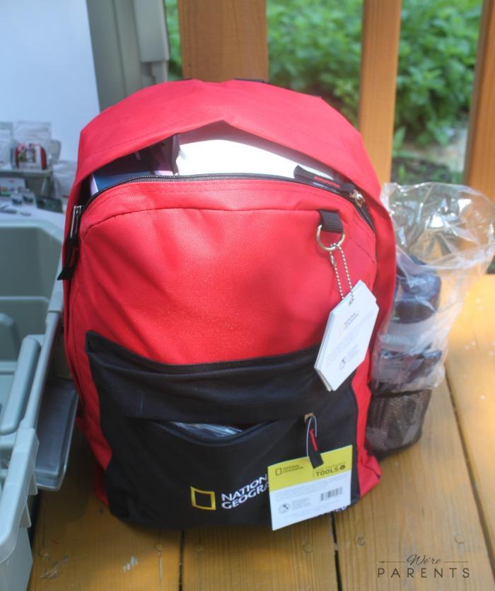 live prepared 72 hour emergency kit