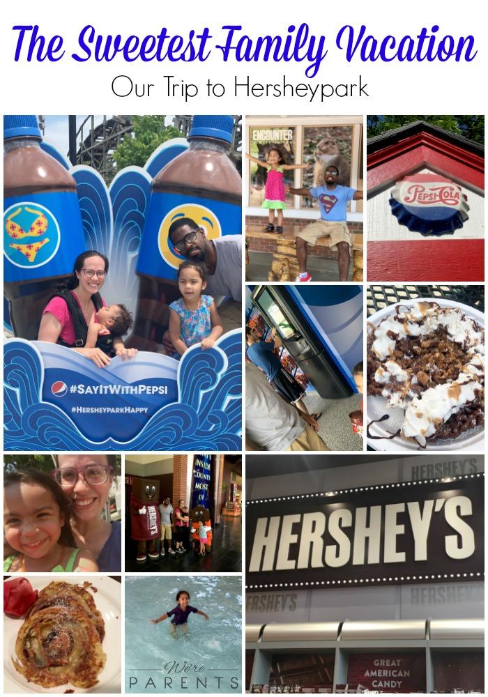 sweetest family vacation hersheypark