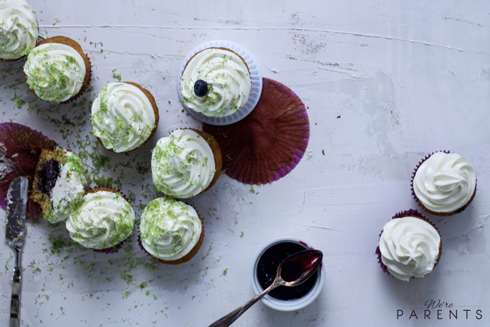 Blueberry-Lime-Cupcake