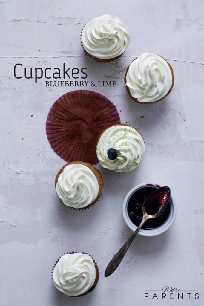 Blueberry-Lime-Cupcakes