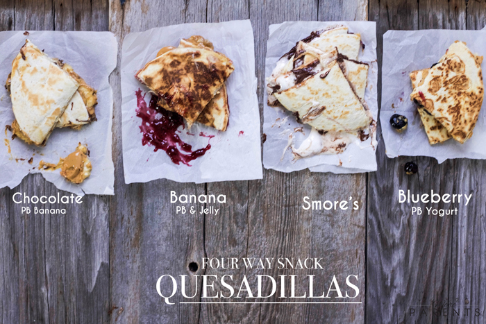 Snack-Quesadillas