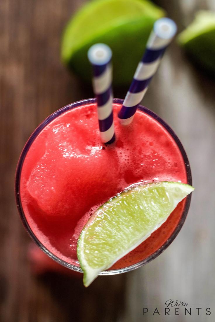 Watermelon Limeade Slushie - Were parents!?