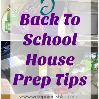 back to school house prep tips