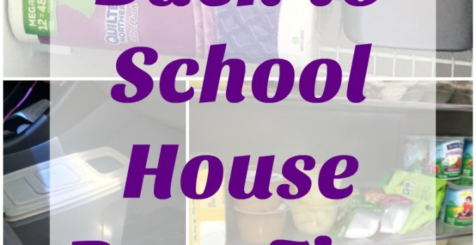 5 Back To School House Prep Tips