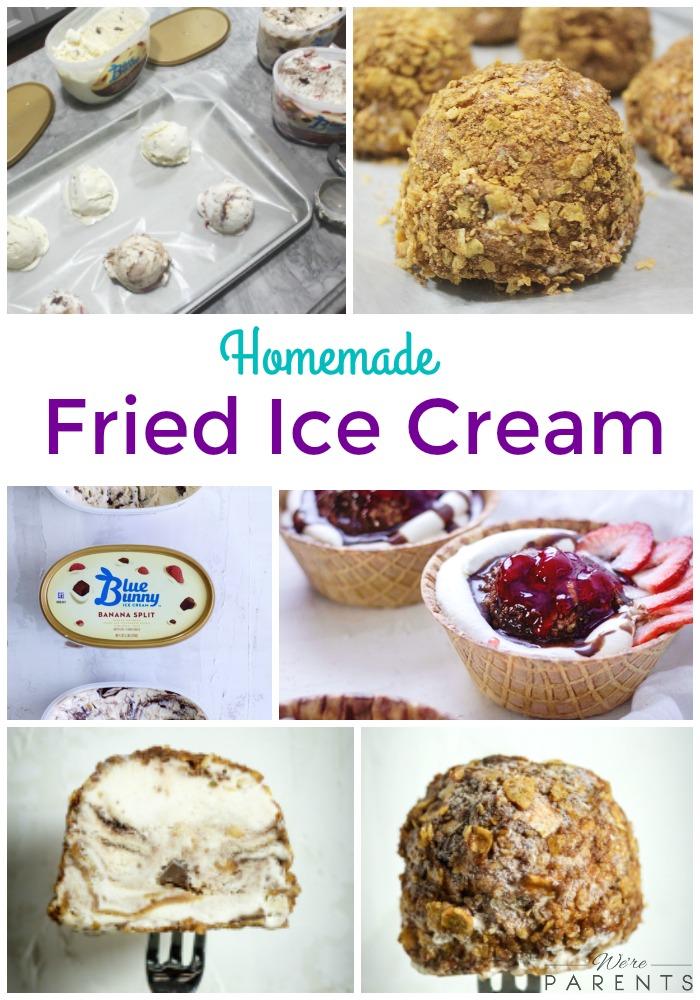 homemade fried ice cream recipe