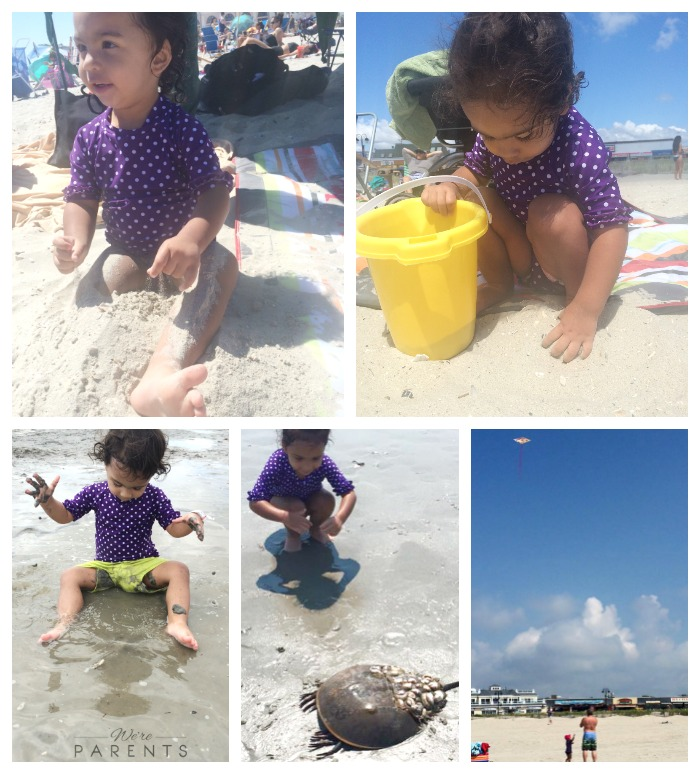 kids activities at the beach