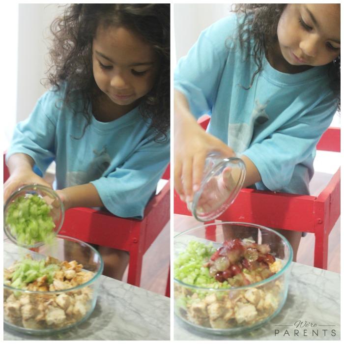 mini chef mondays chicken salad