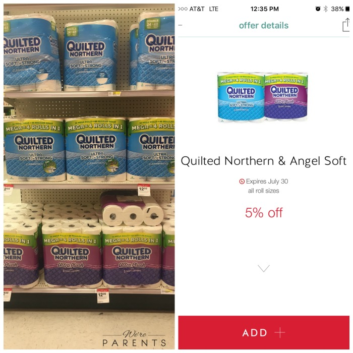quilted northern mega rolls at target