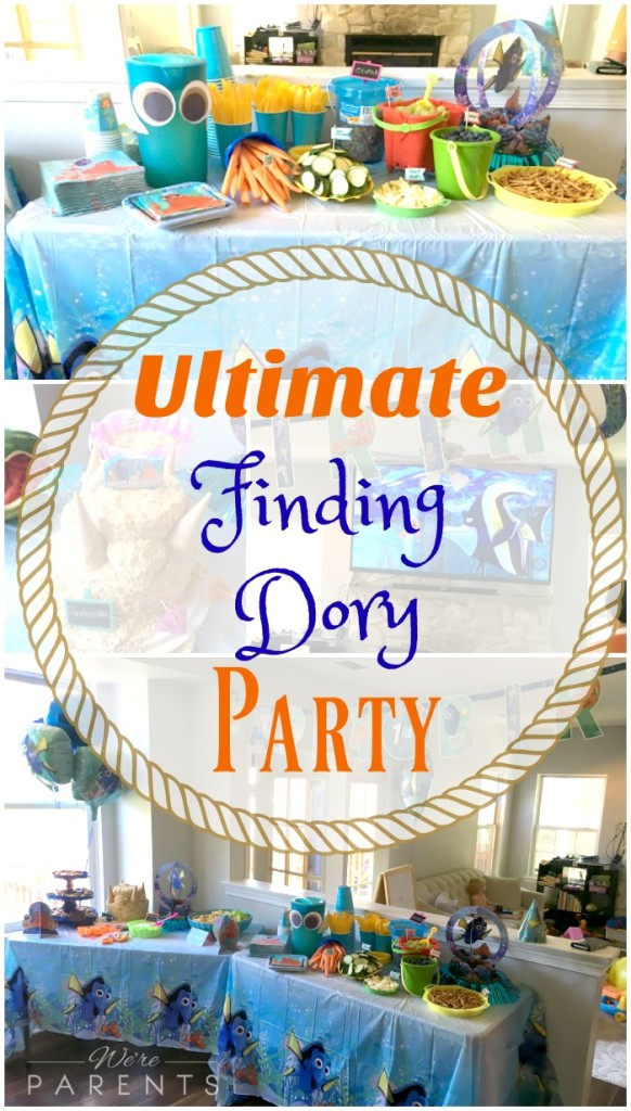ultimate finding dory party