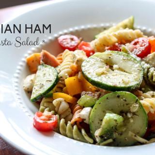Italian-Ham-Pasta-Salad