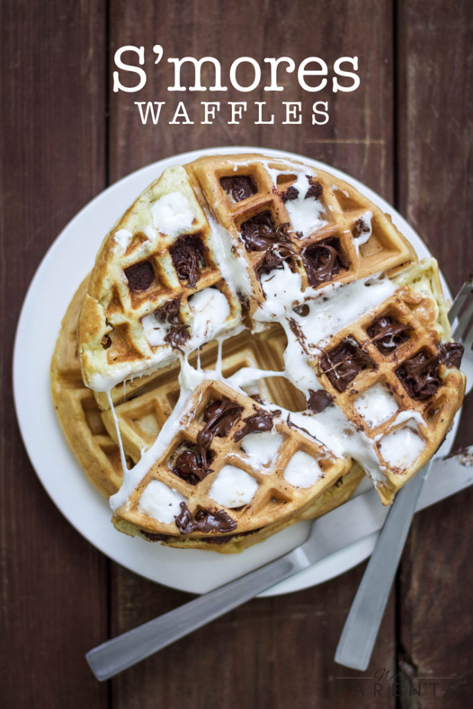 S'mores-Waffles