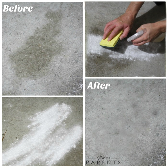 diy garage cleaner