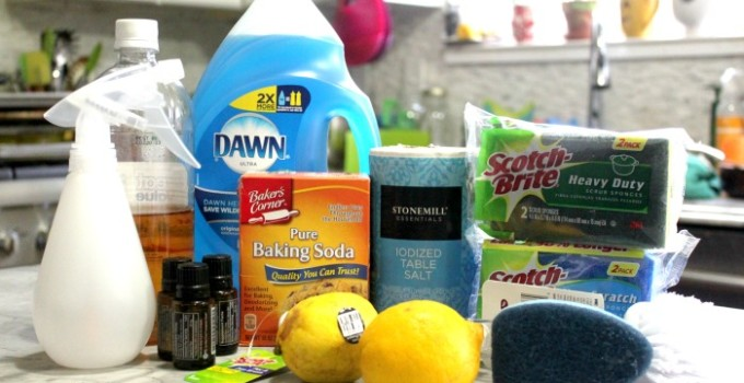 3 DIY Home Cleaners