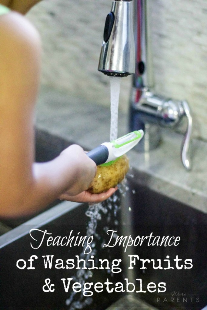 teaching-importance-of-washing-fruits