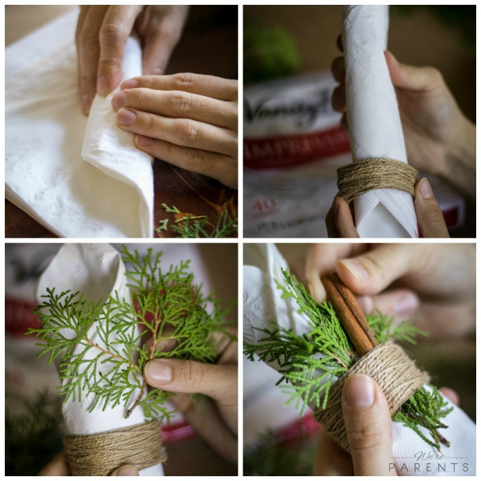 diy-napkin-centerpiece