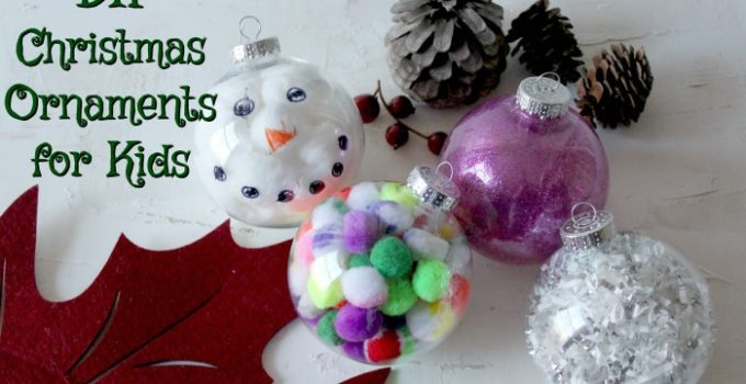 DIY Ornaments for Kids