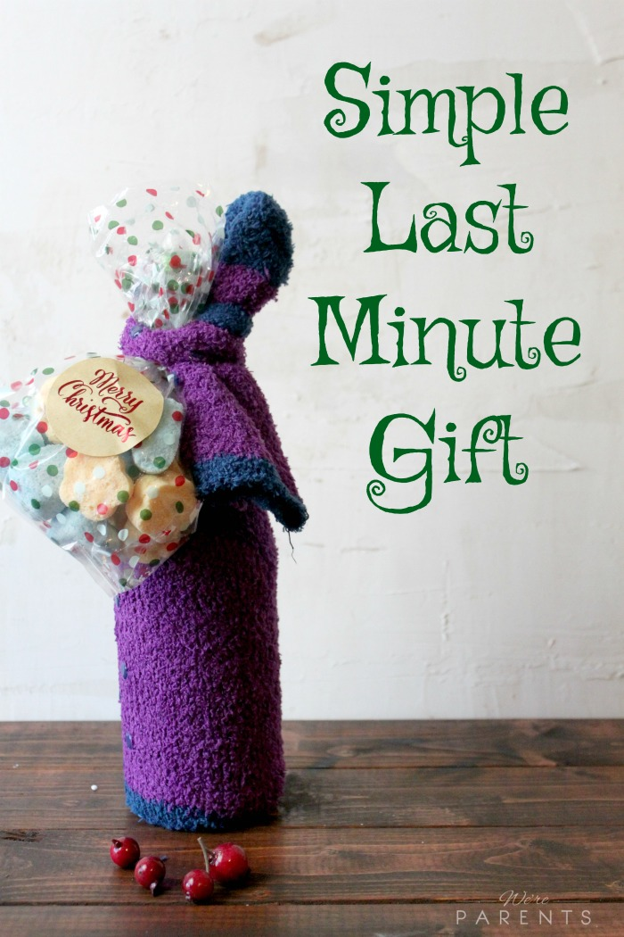 Simple last minute gift idea we 39 re parents for Easy last minute christmas gifts to make