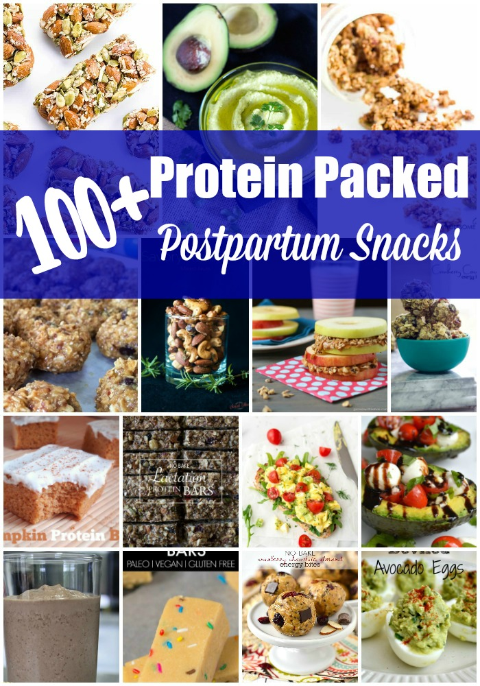 100+ Protein Packed Postpartum Snacks - We're Parents