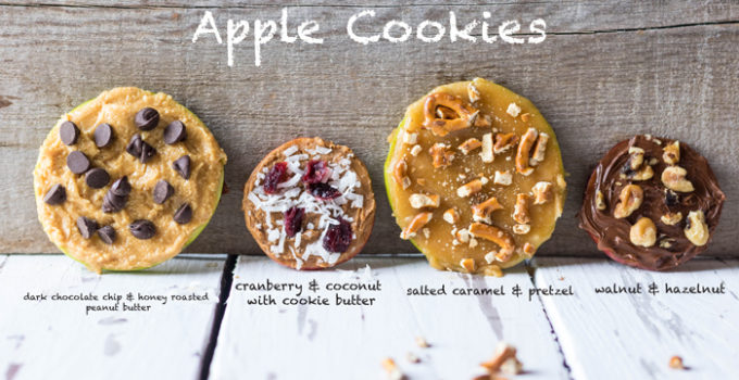Apple Cookies Four Ways