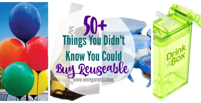 50+ Things You Didn't Know You Could Buy Reusable