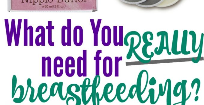 What do you REALLY need for breastfeeding?